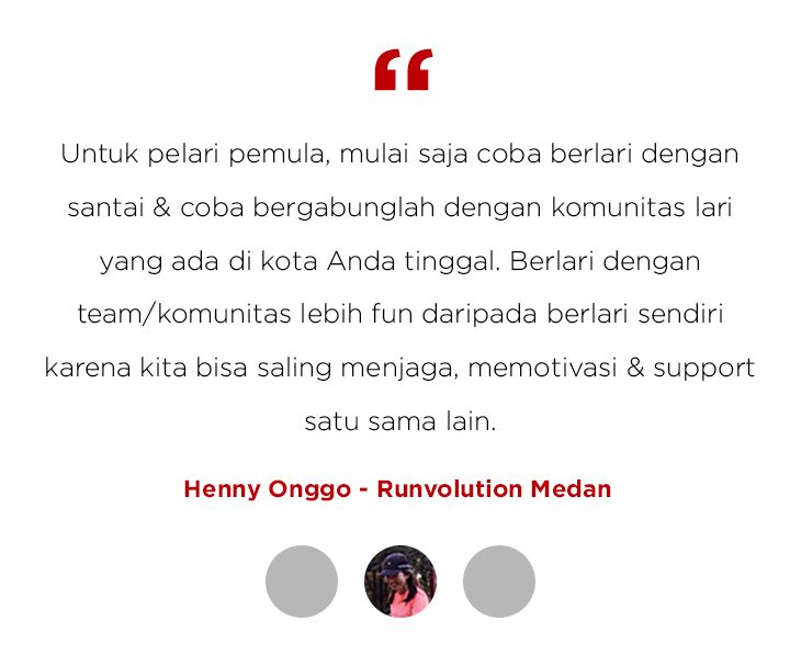 Running Tips Henny Onggo