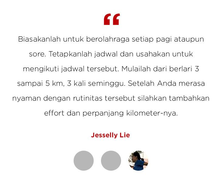 Running Tips Jesselly Lie