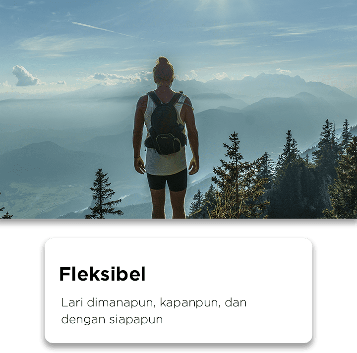Virtual Run itu fleksibel